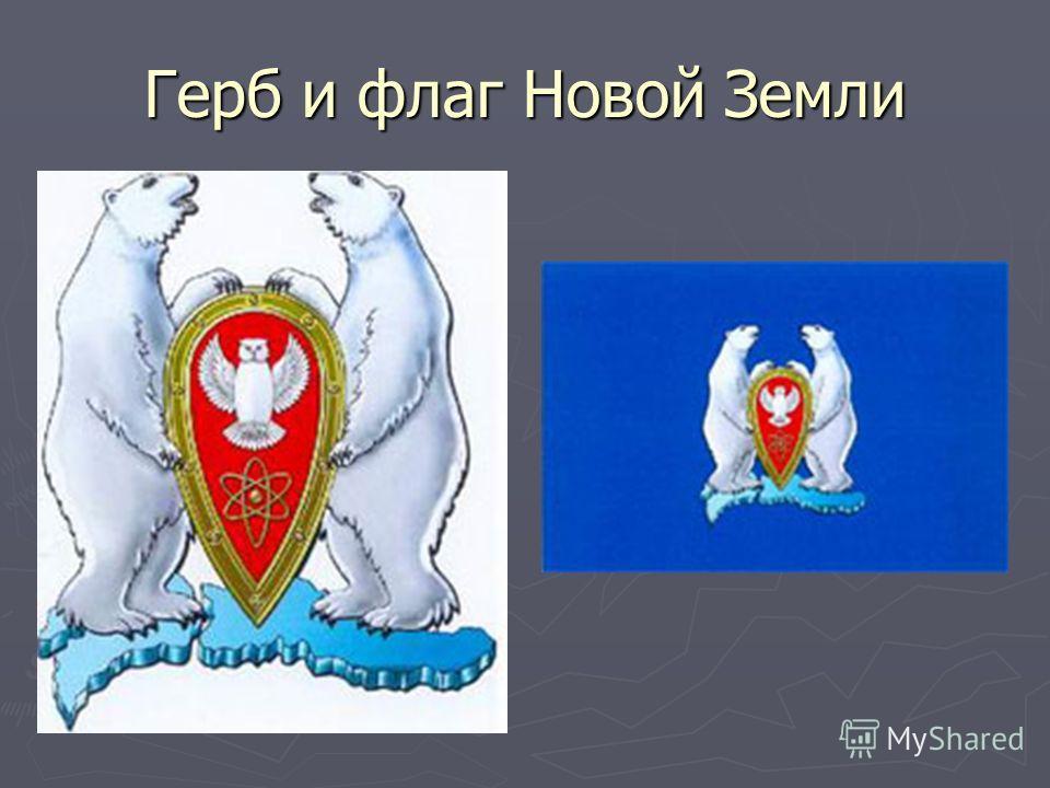 Герб и флаг Новой Земли