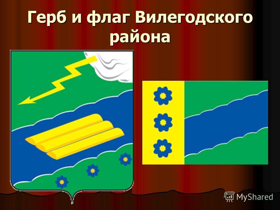 Герб и флаг Вилегодского района