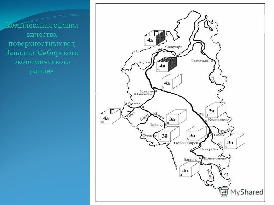 Комплексная оценка качества поверхностных вод Западно-Сибирского экономического райо на