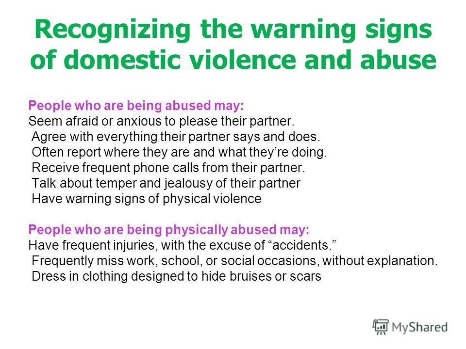 Recognizing The Warning Signs Teens 100