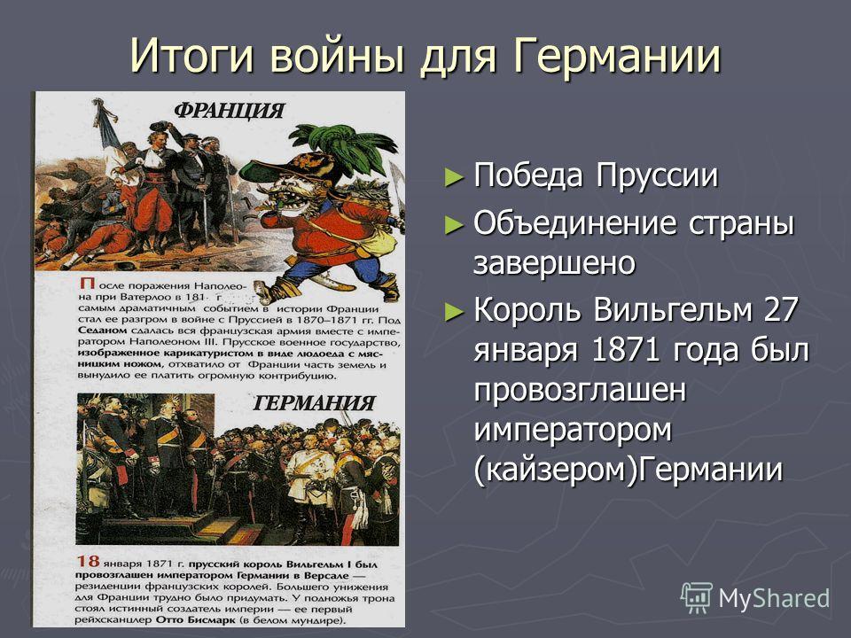 На схеме: франко-прусская война 1870-1871