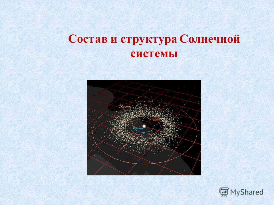 Состав и структура Солнечной системы