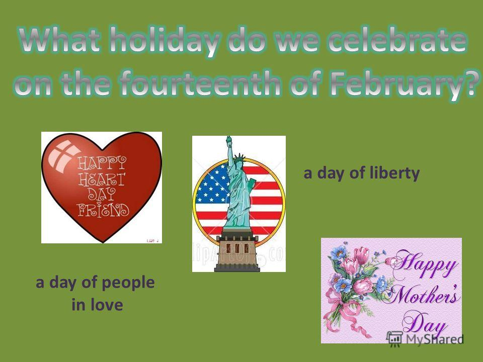 a day of people in love a day of liberty