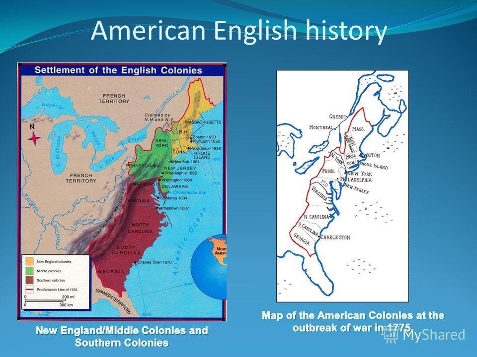 American English history