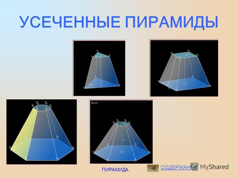 ПИРАМИДА Правильным многоугольником называется многоугольник, у которого все стороны равны и все углы равны. Центр окружности, описанной около правильного многоугольника совпадает с центром окружности, вписанной в тот же многоугольник, и называется ц