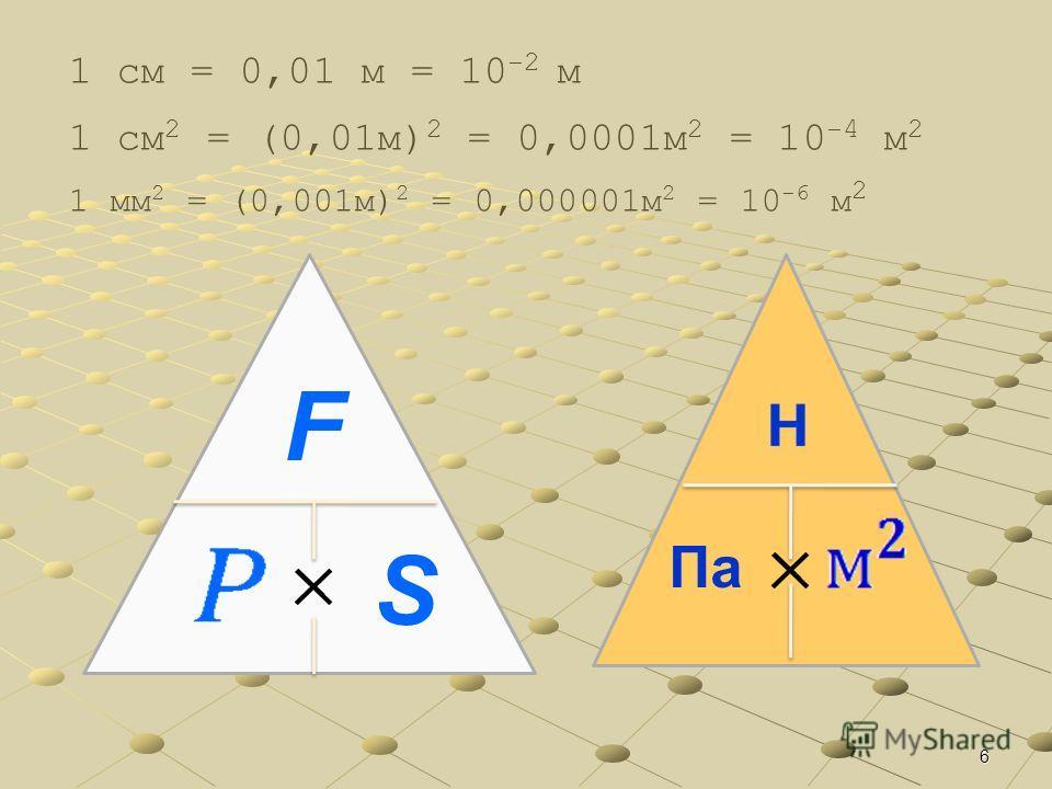 5 Основные формулы