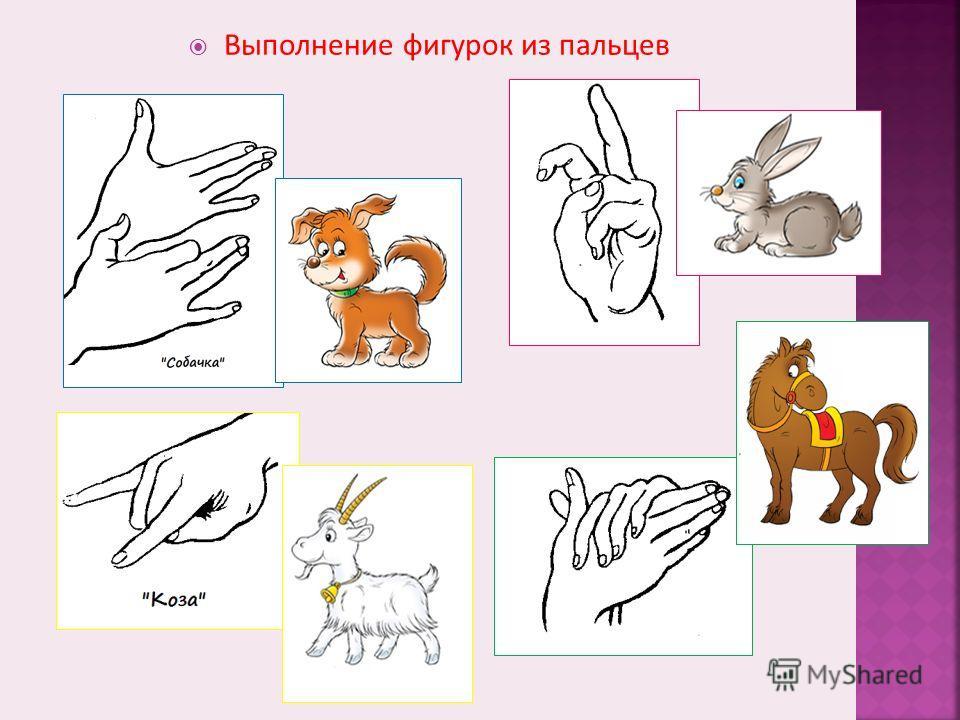 Упражнения для кистей рук (с 2 – 3 лет) «ФОНАРИКИ» Ладони расположить перед собой, выпрямить и раздвинуть пальцы. Сжимать и разжимать пальцы на обеих руках одновременно или поочередно. «ШАРИК» «ПЕЧЁМ БЛИНЫ» Попеременно касаться поверхности стола тыль