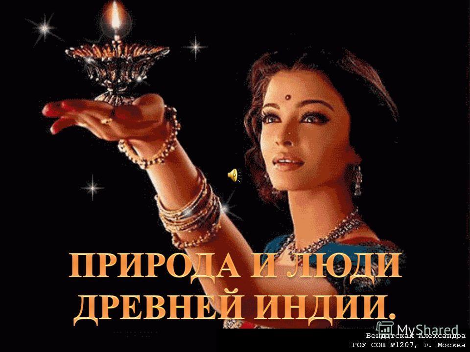 Бендетская Александра ГОУ СОШ 1207, г. Москва