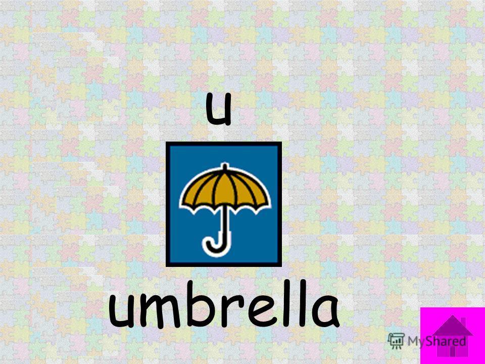 u umbrella