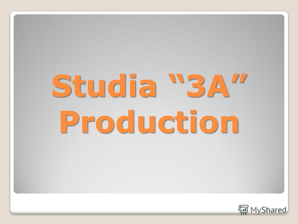 Studia 3A Production