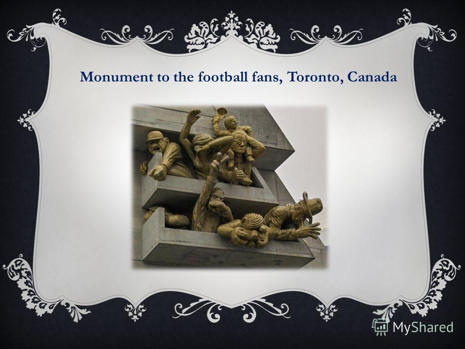 Monument to the football fans, Toronto, Canada