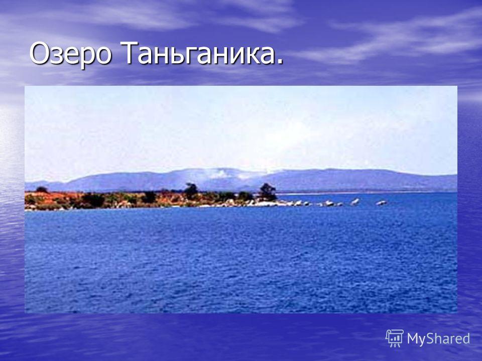 Озеро Таньганика.