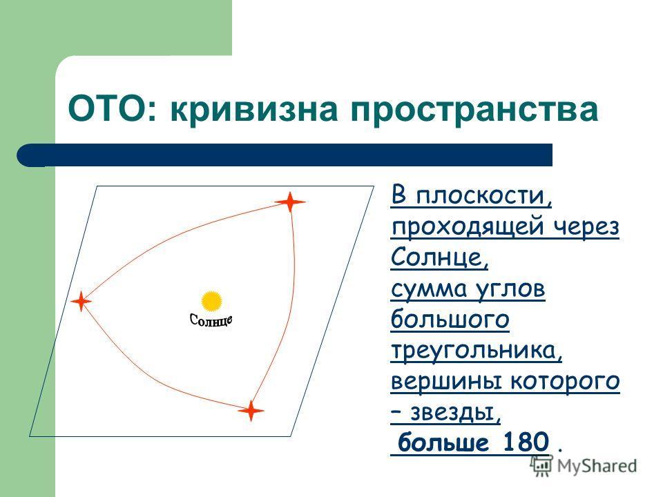 Геометрия и физическая картина мира Лобачевский, показав, что евклидова геометрия не единственна, поставил вопрос о геометрии пространства, в котором развивается Вселенная. Созданная Эйнштейном общая теория относительности установила связь между сило