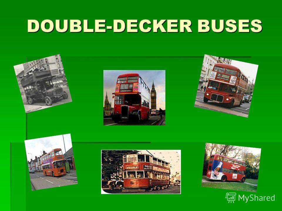DOUBLE-DECKER BUSES DOUBLE-DECKER BUSES