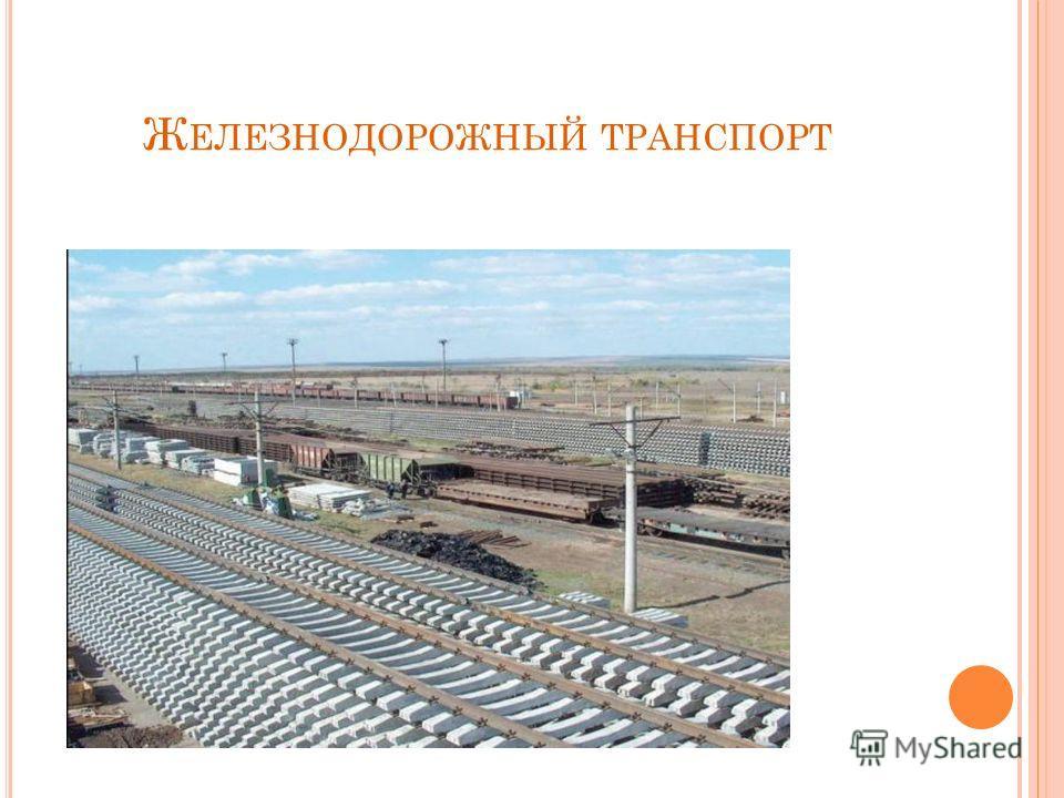 Ж ЕЛЕЗНОДОРОЖНЫЙ ТРАНСПОРТ