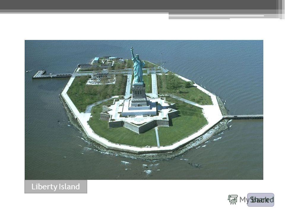 back Liberty Island