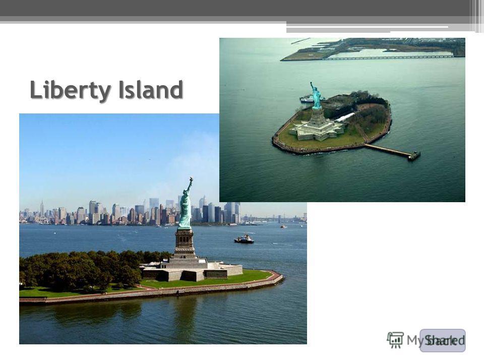 Liberty Island back