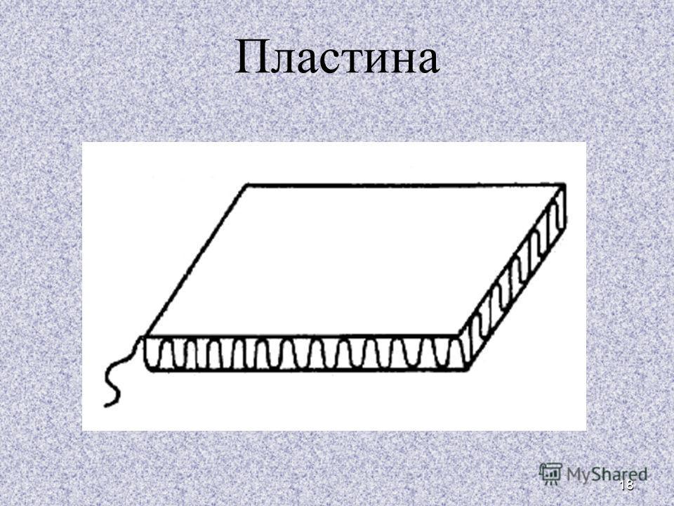 18 Пластина