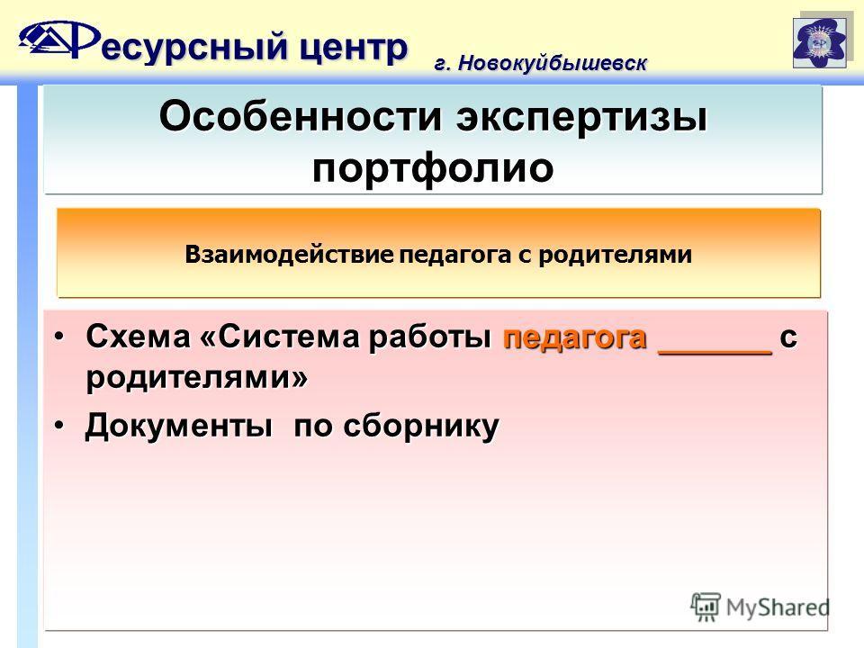 «Система работы педагога