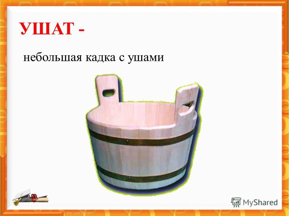 УШАТ - небольшая кадка с ушами