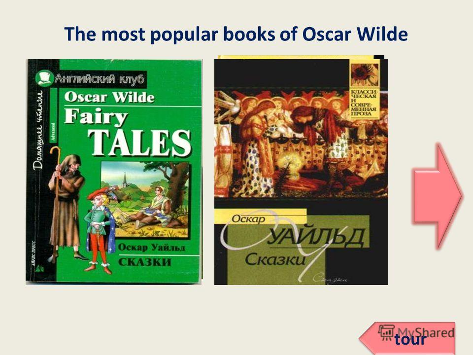 The most popular books of Oscar Wilde tour