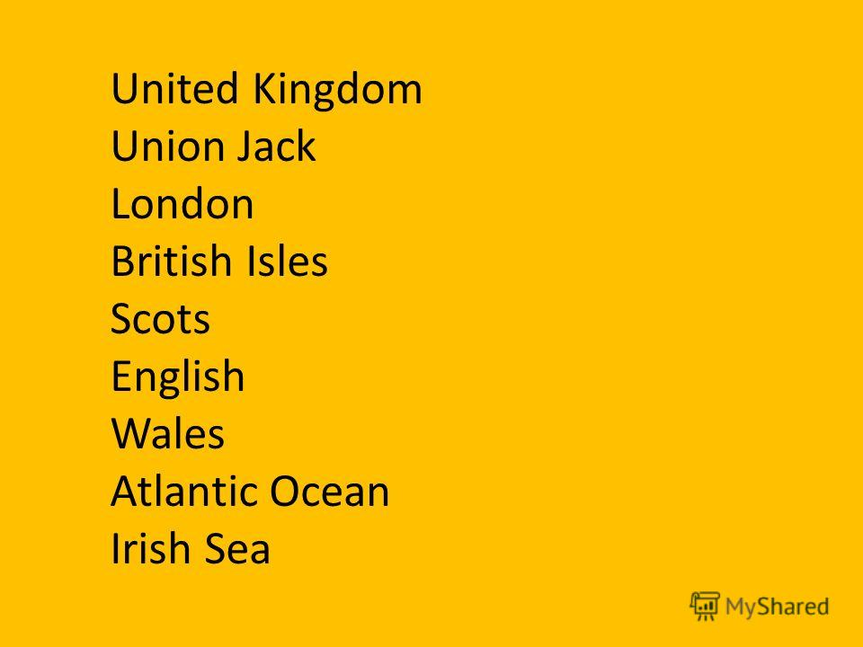 United Kingdom Union Jack London British Isles Scots English Wales Atlantic Ocean Irish Sea