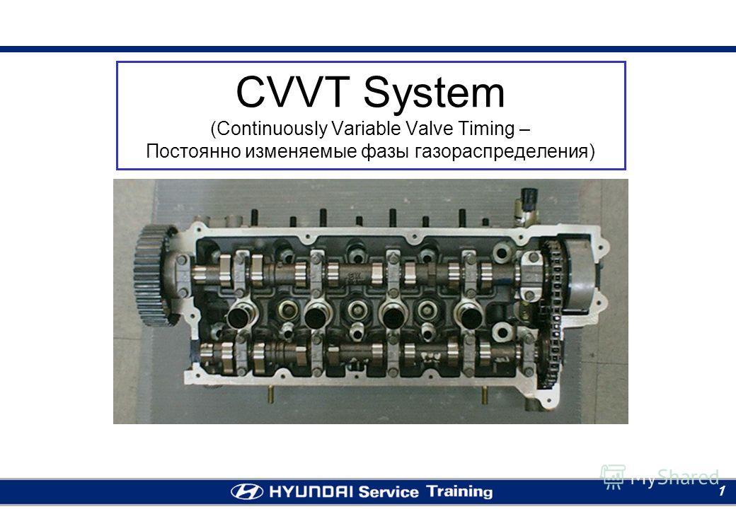 Moscow RTC 1 CVVT System (Continuously Variable Valve Timing – Постоянно изменяемые фазы газораспределения)