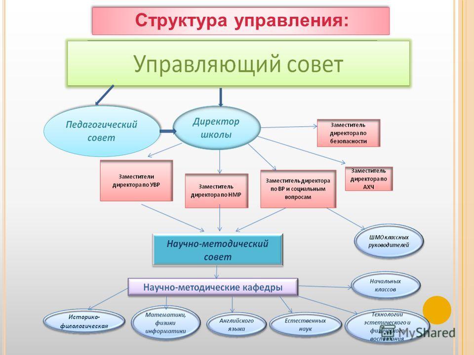 Структура управления: