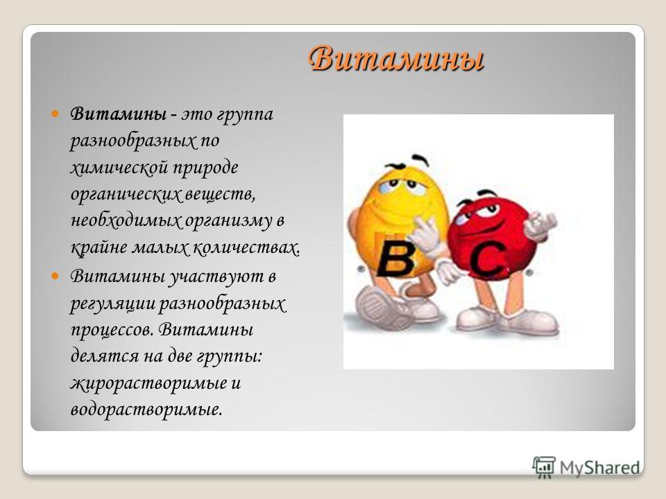 Презентация На Тему Витамины Скачать