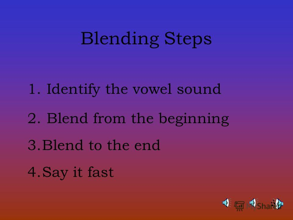 blending steps types of syllables where to break There are 3 main parts to the phonics mini lessons that will help you sound out new words.
