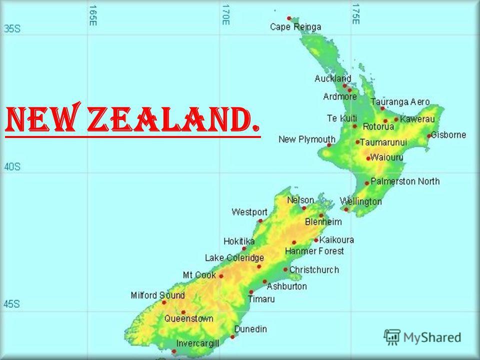 New Zealand Flagcoat Of Arms Capital