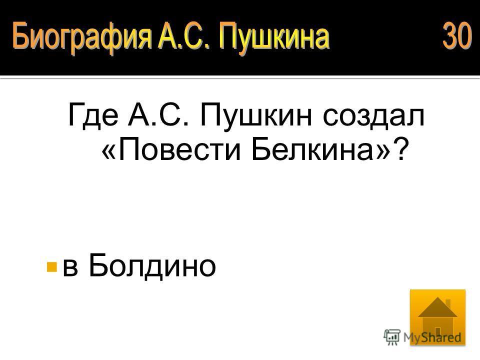 Где учился А.С. Пушкин? Царскосельский лицей