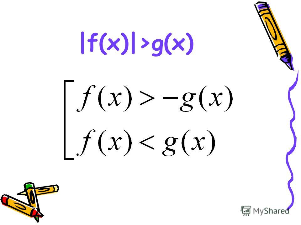 |f(x)|>g(x)