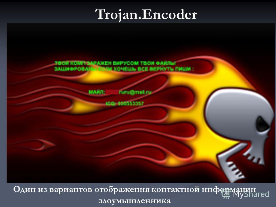 Trojan.Encoder в настоящее время распространяется посредством ссылок на вредоносный сайт в почтовых сообщениях. Пользователю предлагается просмотреть открытку, якобы присланную от имени сервиса открыток Мail.ru. При открытии соответствующей страницы