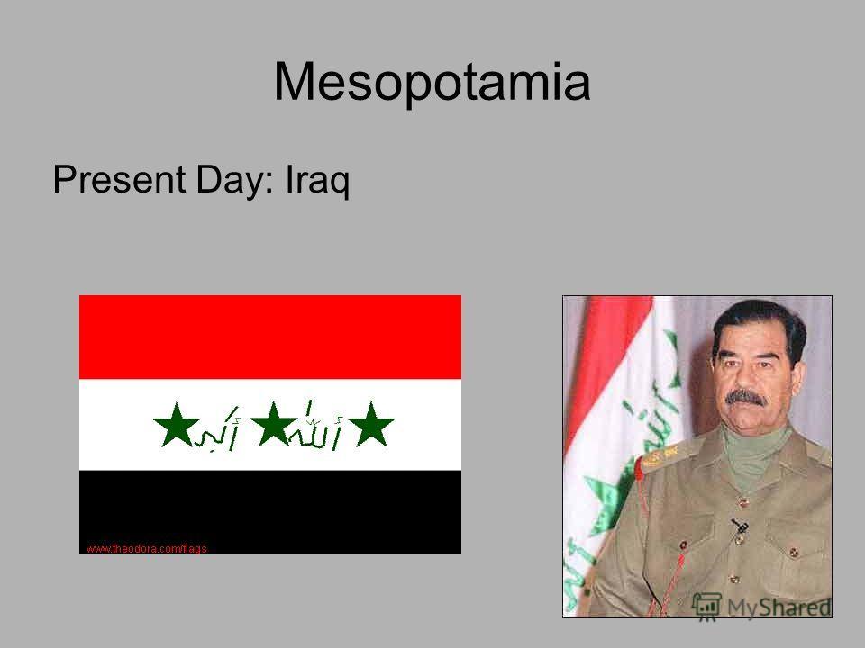Mesopotamia Present Day: Iraq