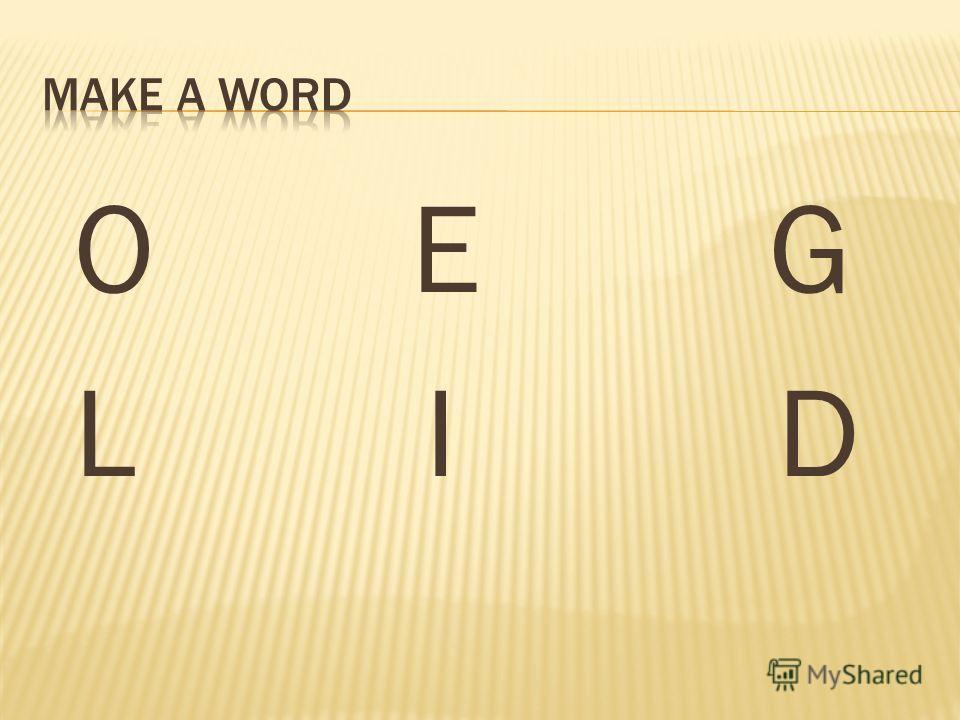 O E G L I D
