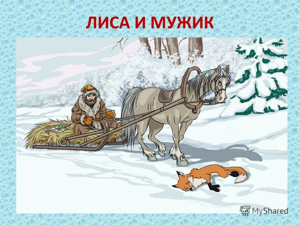 ЛИСА И МУЖИК
