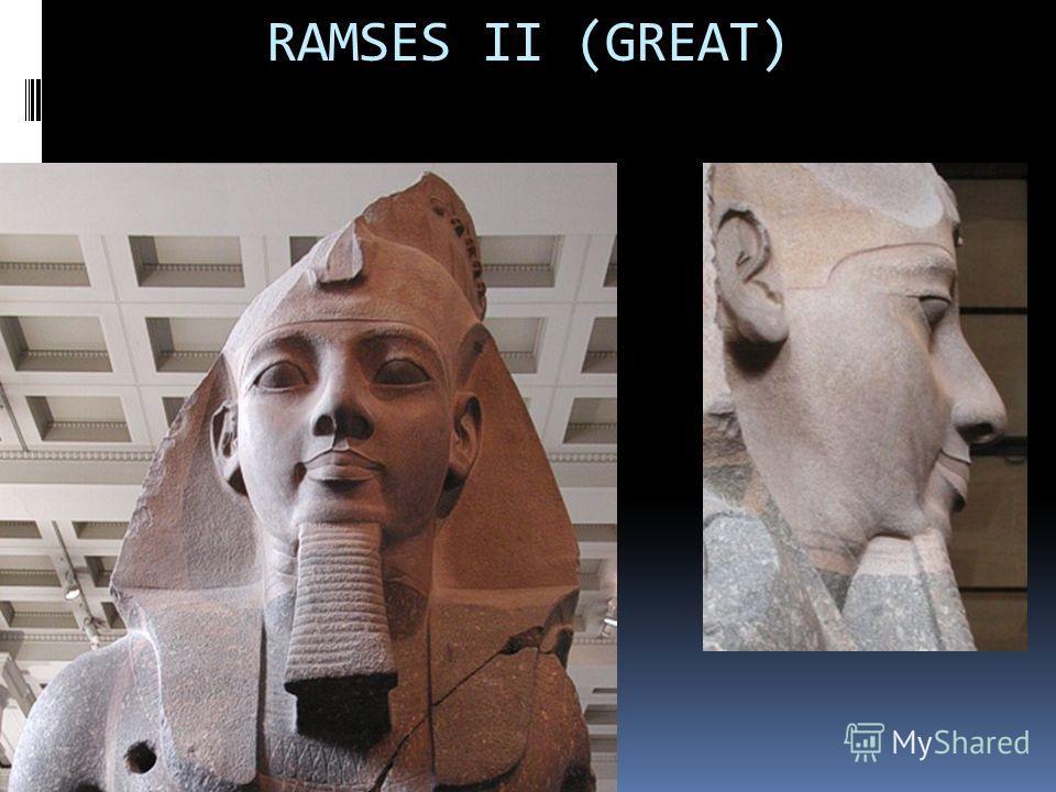 RAMSES II (GREAT)