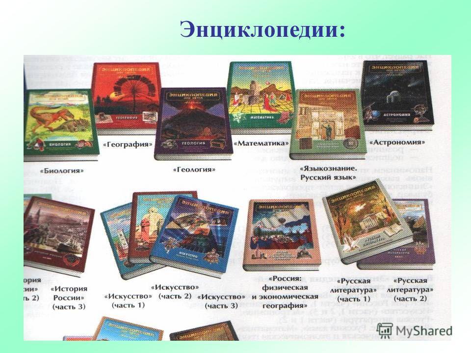 Энциклопедии: