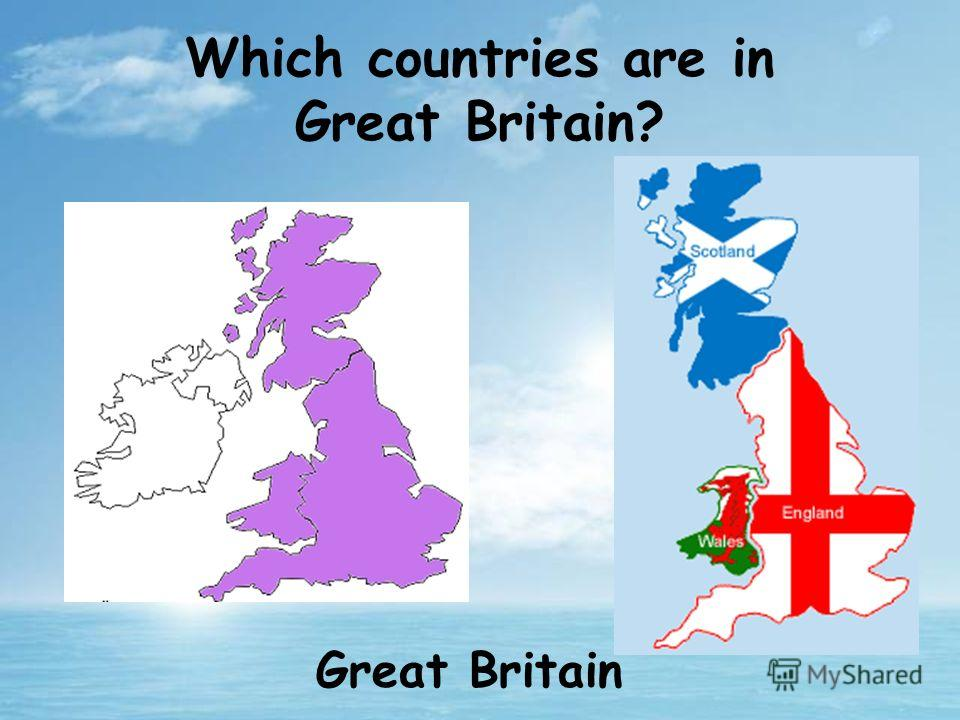 Which countries are in Great Britain? Great Britain