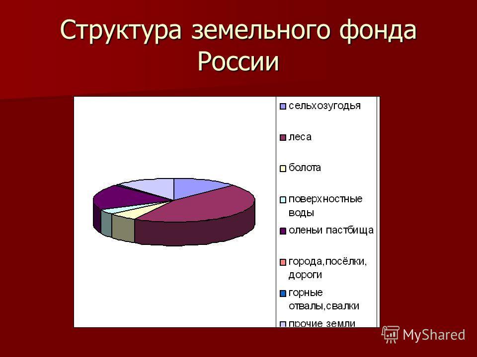 Структура земельного фонда России