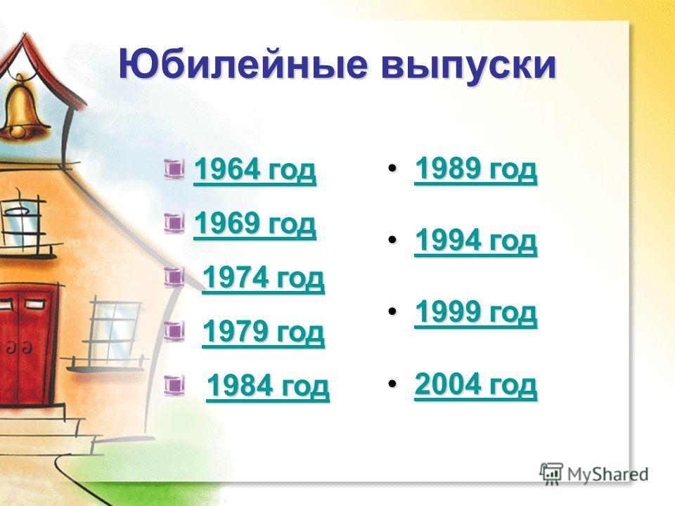 Юбилейные выпуски 1964 год 1964 год1964 год1964 год 1969 год 1969 год1969 год1969 год 1974 год 1974 год1974 год1974 год 1979 год 1979 год1979 год1979 год 1984 год 1984 год1984 год 1984 год 1989 год 1989 год1989 год1989 год 1994 год 1994 год1994 год19