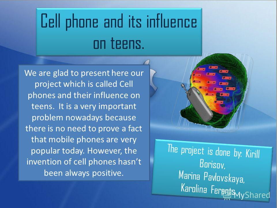 cell phones present essay