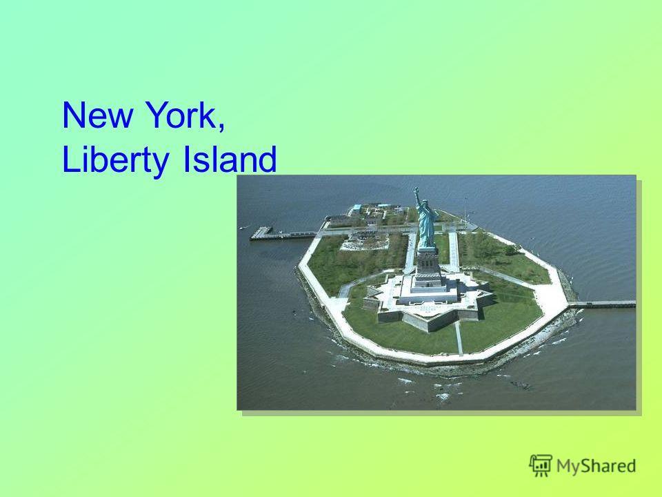 New York, Liberty Island