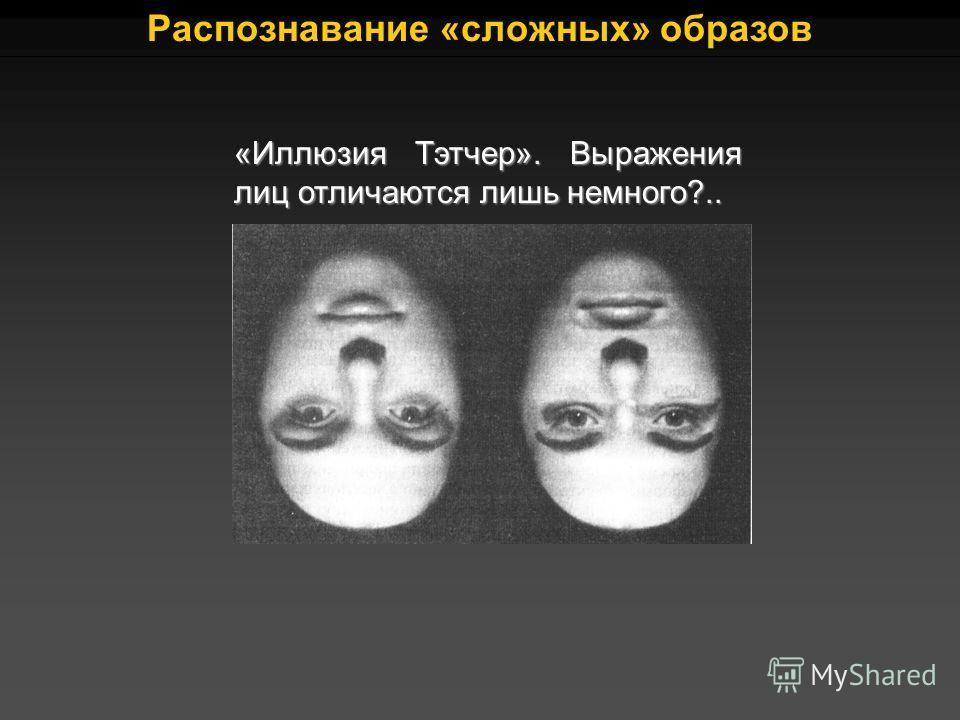 «Иллюзия Тэтчер». Выражения лиц отличаются лишь немного?..