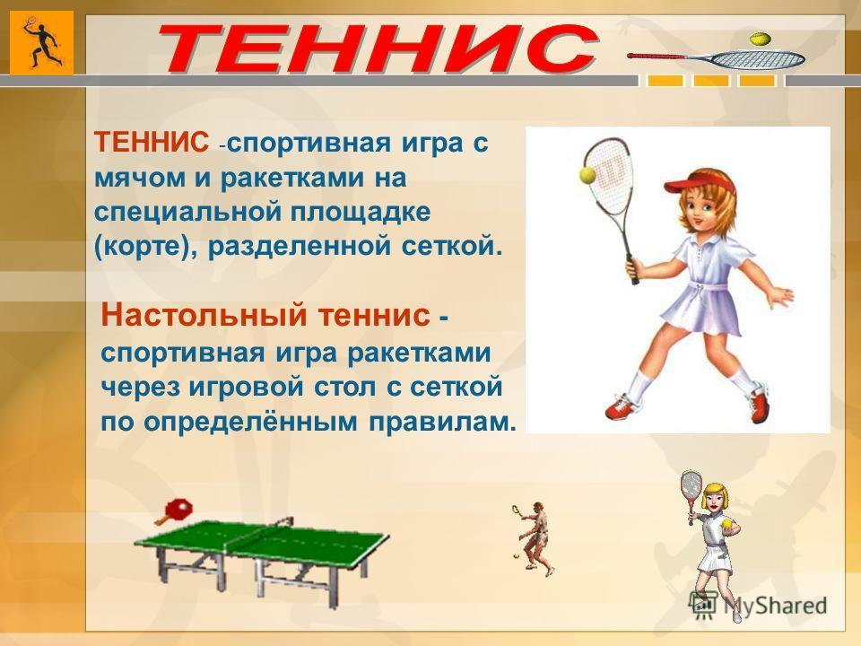 Правила Игры В Настольный Теннис Реферат