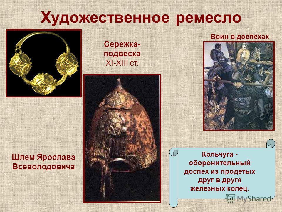 Презентация ремесло на руси