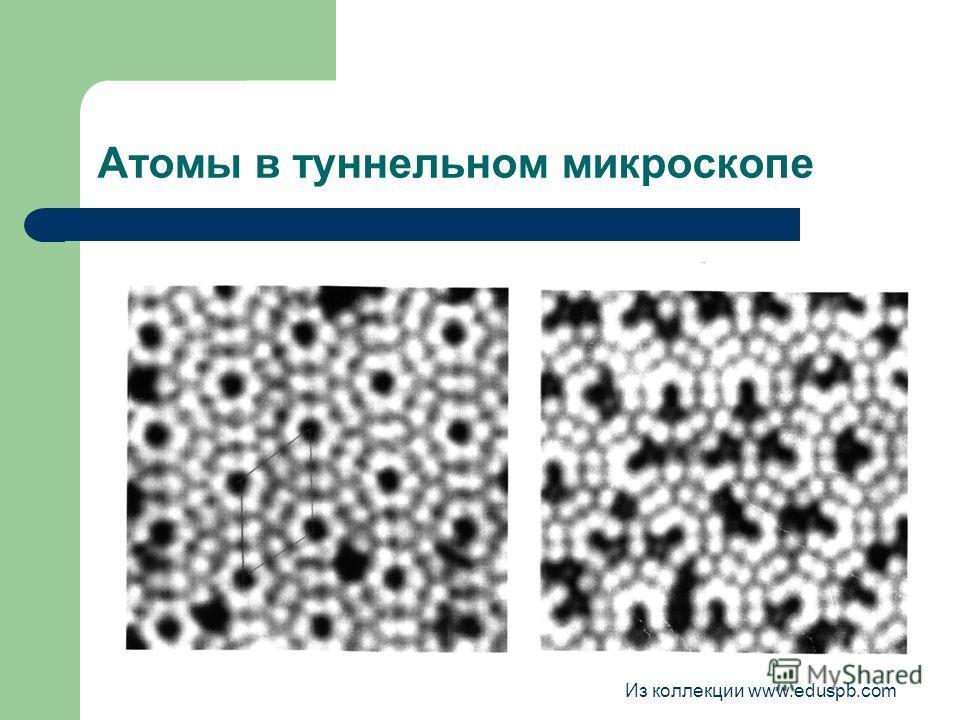 Атомы в туннельном микроскопе Из коллекции www.eduspb.com