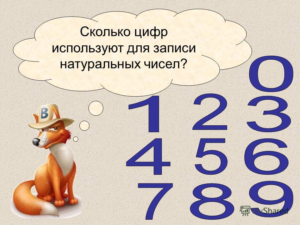 Литвиненко Т.А. Сколько цифр используют для записи натуральных чисел?