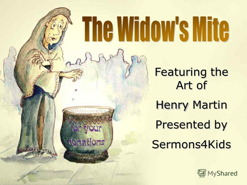 Featuring the Art of Henry Henry Martin Presented by Sermons4Kids Featuring the Art of Henry Henry Martin Presented by Sermons4Kids